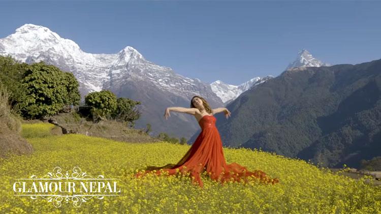 Actress Samragyee RL Shah | Nepali Film TIMI SANGA