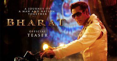 Bollywood superstar Salman Khan's much-awaited next film Bharat Teaser Poster